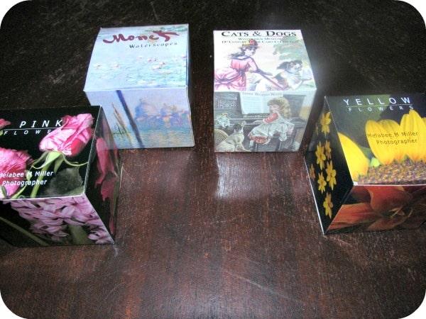 Art Cube Puzzles