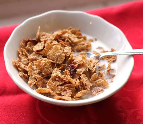 All-Bran* Cranberries & Clusters cereal