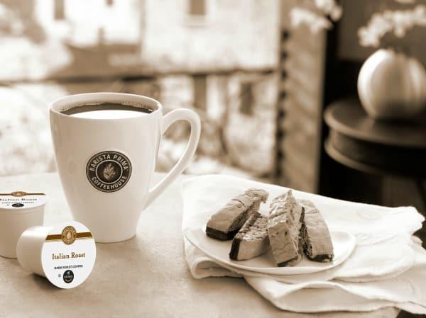 Barista Prima Coffeehouse in Italian Roast Coffee + Tiramisu Brownies Recipe #YourPerfectCup