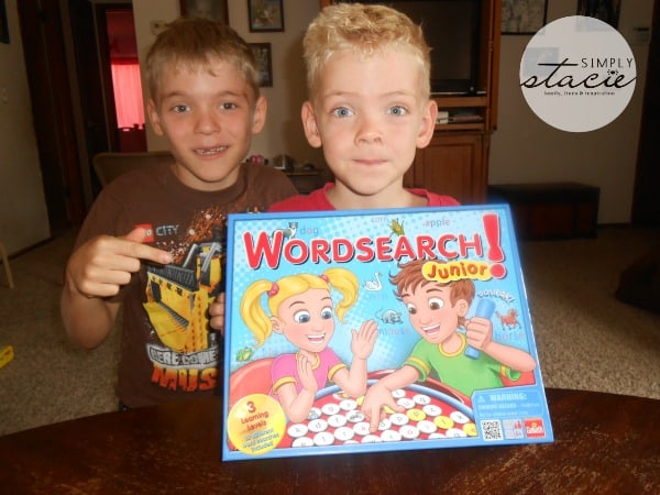 Wordsearch Junior Review