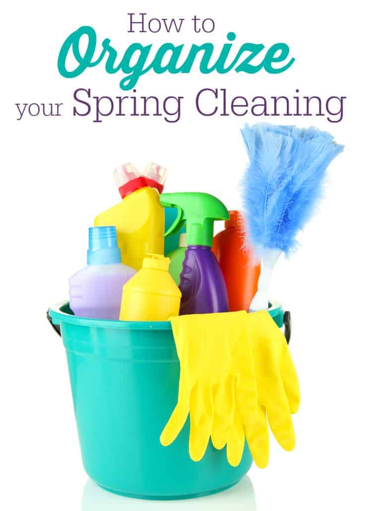 Spring cleaning how to spring clean a home for Organize cleaning your house