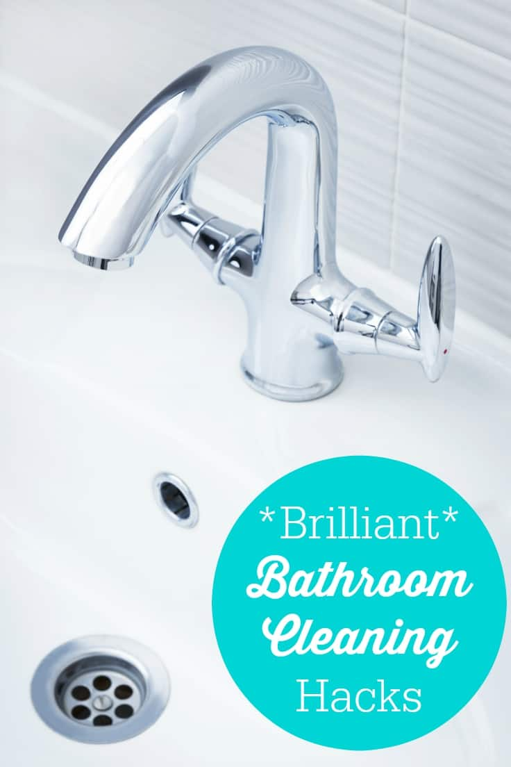 Brilliant Bathroom Cleaning Hacks Simply Stacie