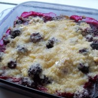 Thanksgiving Desserts with Country Crock: Blackberry Cobbler and Pound Cake