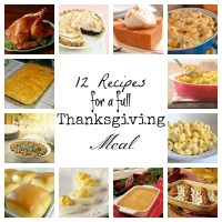 12 Recipes for a Full Thanksgiving Meal