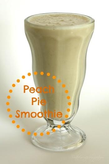 Peach Pie Smoothie