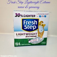 Fresh Step LightWeight Review & Giveaway
