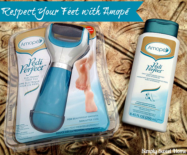 Respect Your Feet with Amopé and 10 Foot Care Tips