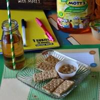 Peanut Butter Applesauce Dip + Back to School Snack with Mott's®