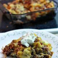 Pork Potato Casserole