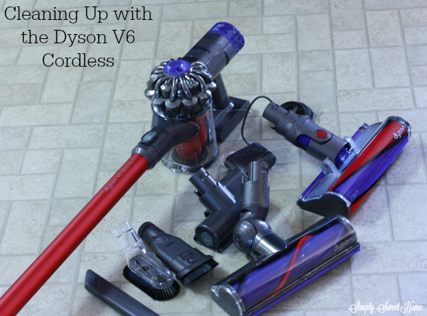 Cleaning Up with the Dyson V6