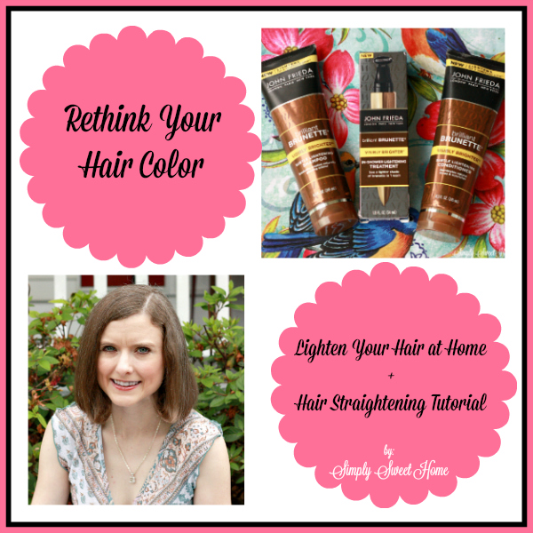 Rethink Your Hair Color + A Hair Straightening Tutorial