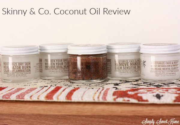 Skinny & Co. Coconut Oil Feature and Coupon Code