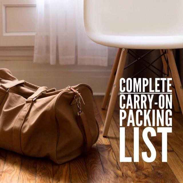 6month update of our packing list for 12months in ahellip