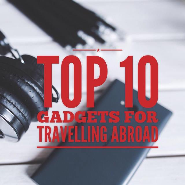 Are you a traveller? Here are 10 musthave gadgets tohellip
