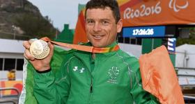 Dr Eoghan Clifford and his Gold medal. Credit: Limerick Leader