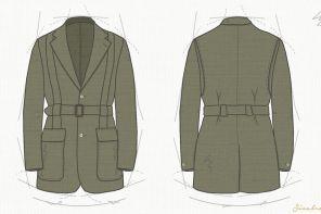 Los secretos de la chaqueta Norfolk.
