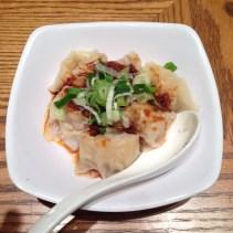 Pork Dumpling in Spicy Oil