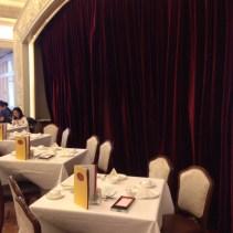 Table at City Hall Maxim's Palace, Hong Kong