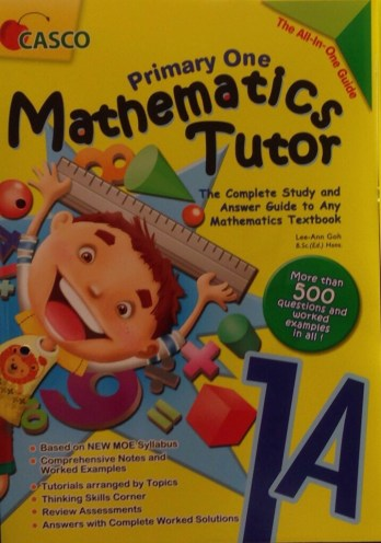 Primary One Mathematics Tutor—Book 1A