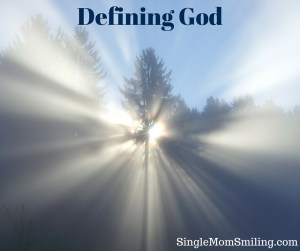 Defining God - Sun through trees