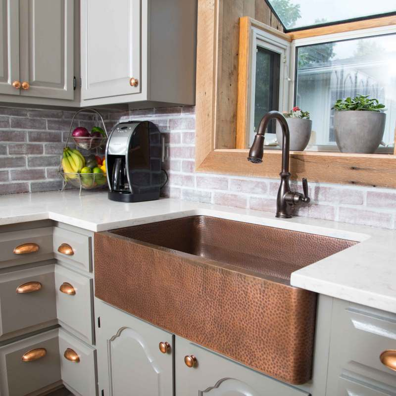 Large Of Copper Farmhouse Sink
