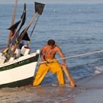 La pesca artesanal en la costa de La Antilla (Huelva)