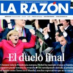 Zapatero 1, Merkel 0 – (toménselo con humor, incluso los de derechas)