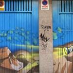 Graffitis en San Antonio de la Florida  (fotos de Francisco  Lopez)