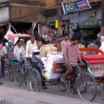 Viaje fotográfico a la India: el tráfico en Varanasi