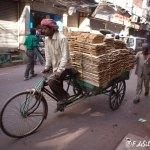 Viaje fotográfico a la India: el triciclo, un habitual medio de transporte