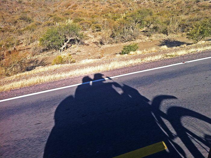 Efímeras sombras en la ruta al sur de Bolivia