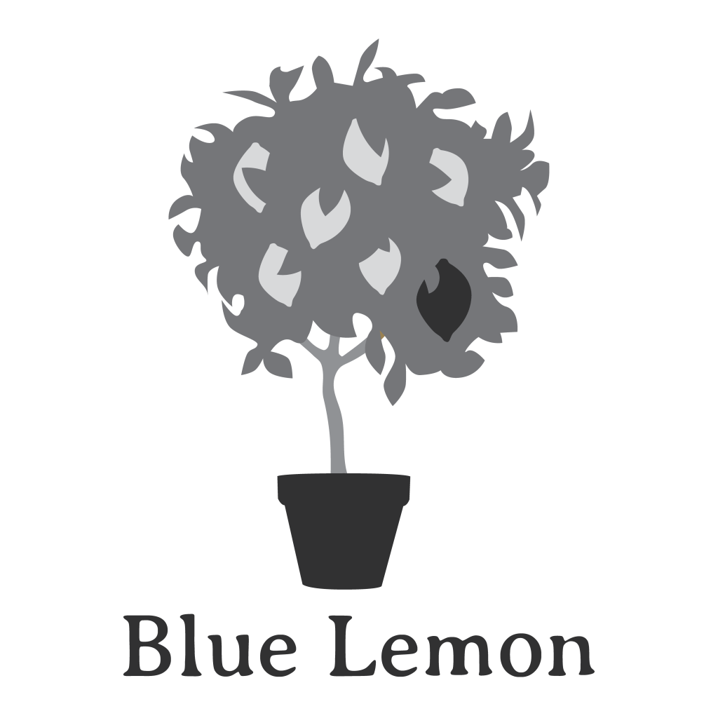 Blue Lemon logo by Rebecca McKeever of Sioux Falls