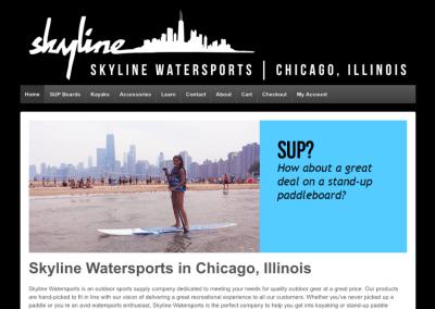 Skyline Watersports E-commerce Website