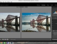forth-rail-bridge-before-after-adobe-lightroom