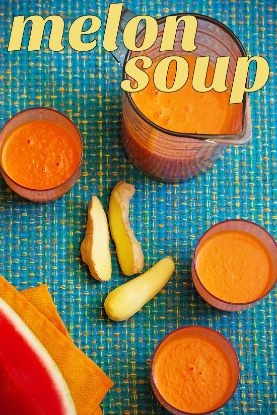 Spicy Melon Soup