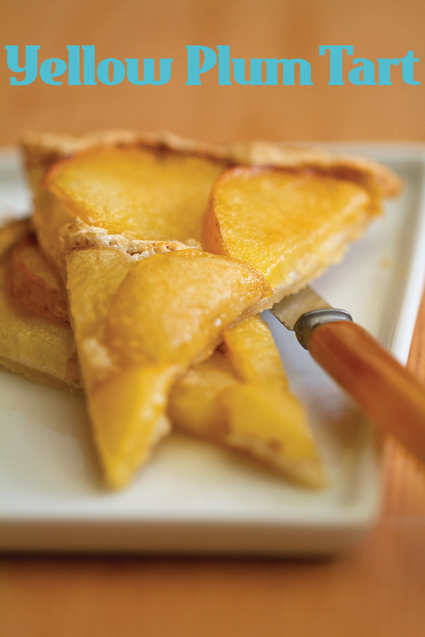 Yellow Plum Flat Tart