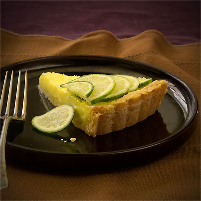 creamy lime tart