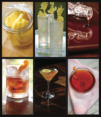 Savory Cocktails from Greg Henry