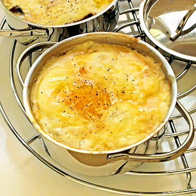 Baked Eggs Irish Breakfast