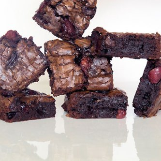 Bittersweet Chocolate-Cherry Brownies