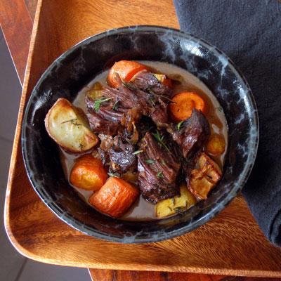 pot roast serving
