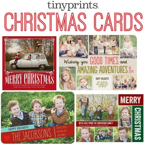 Medium Crop Of Tiny Prints Christmas Cards
