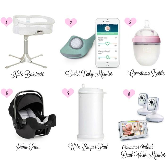 Baby Essentials Collage
