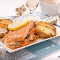 Aer Lingus ofrece platos gourmet a pedido en sus vuelos