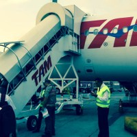 Vuelo de TAM entre Aeroparque y San Pablo