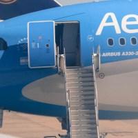 Hoy empieza a volar el Airbus 330 nuevo de Aerolíneas Argentinas