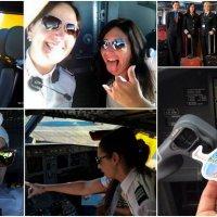 ¿Hay mujeres piloteando aviones de pasajeros en la Argentina?