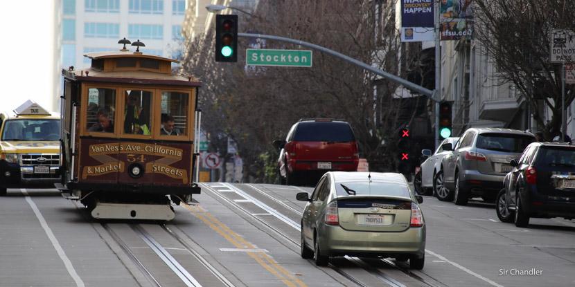 Grabando en 4K el tranvía de San Francisco