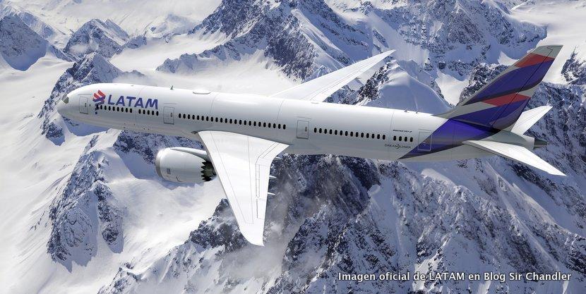 Se oficializó el diseño de LATAM para sus aviones