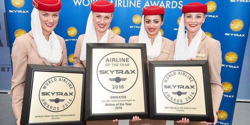 Emirates la mejor aerolínea del mundo para los Skytrax